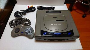 Sega-Saturn-Console-Gray-HST-3200-HST-3210-Japanese