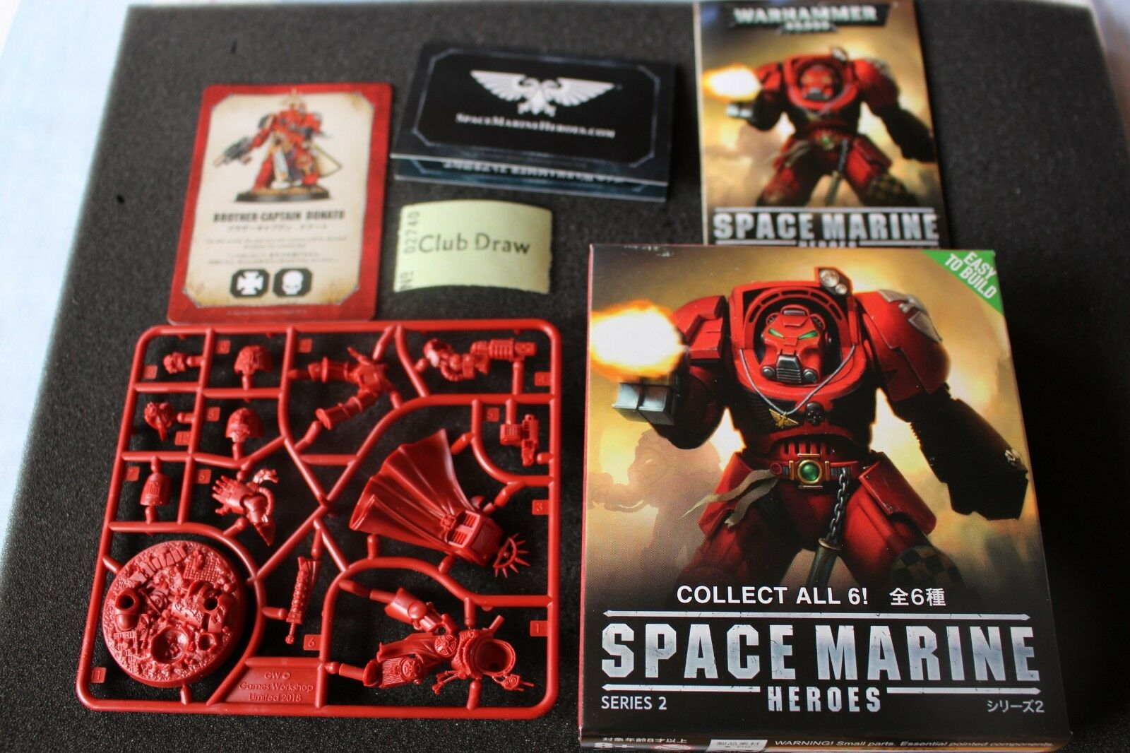 Space Marine Heroes Bredher Captain Donato Japan Exclusive Games Workshop New