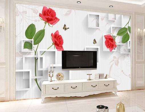 3D Squid Flower 547 Wallpaper Murals Wall Print Wallpaper Mural AJ WALL AU Kyra