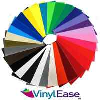 """12"""" x - 27 Sheets of Assorted Glossy Colors Permanent Adhesive-Backed Vin Craft Supplies"""