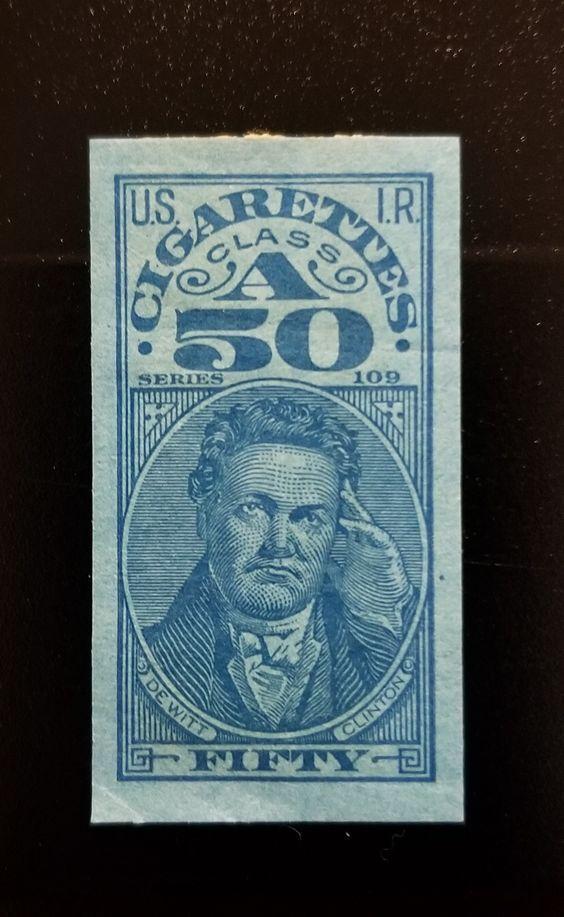 U.S. Internal Revenue Class A Cigarettes (50) Fifty DeW