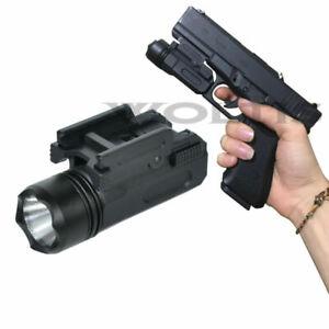 Tactical-Gun-Flashlight-Handgun-Torch-Light-For-Glock-17-19-18C-Pistol