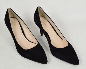 cce500d0d44 Details about Cole Haan Grand OS Pump Suede Black Heel 10 C