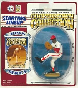 ⚾️ 1995 STARTING LINEUP - SLU - MLB - BOB GIBSON - CARDINALS - COOPERSTOWN (2)