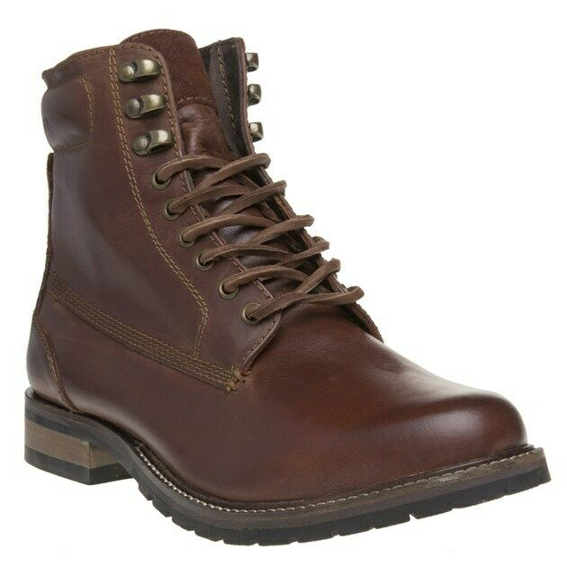 SUPERDRY Mens Edmond Work Boots Brown