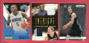 online retailer 6c2c2 08600 Details about VICTOR OLADIPO & CODY ZELLER ROOKIE JERSEY PATCH + PRIZM &  PANINI RC CARD IU