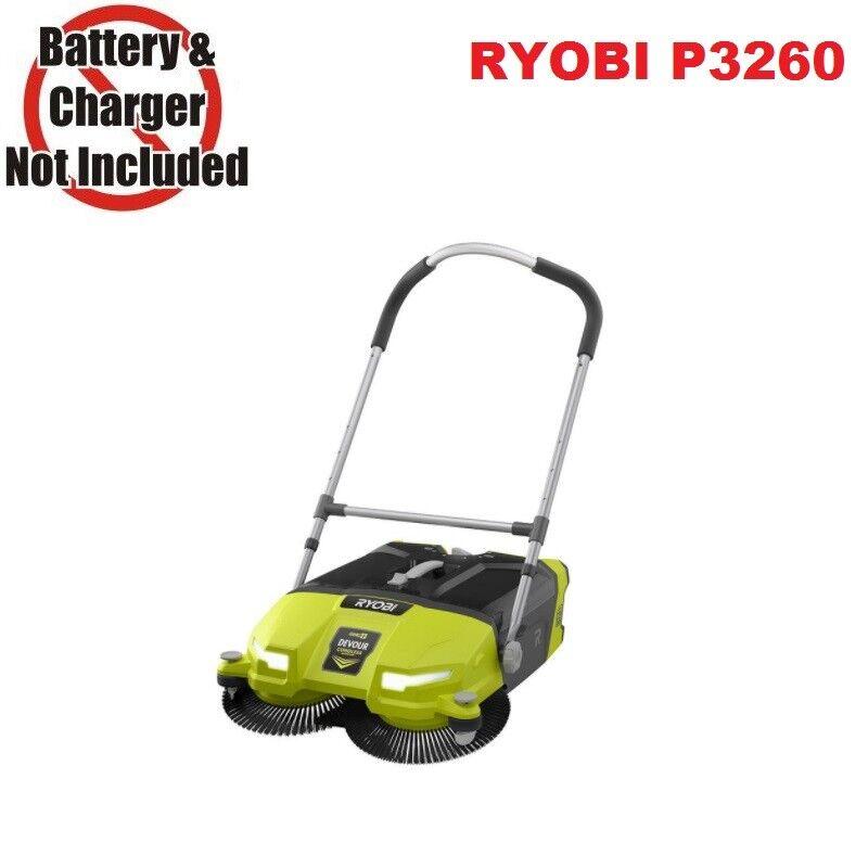 Ryobi P3260 18V 18-Volt ONE+ 4.5 Gal. DEVOUR Debris Cordless Sweeper, Bare Tool