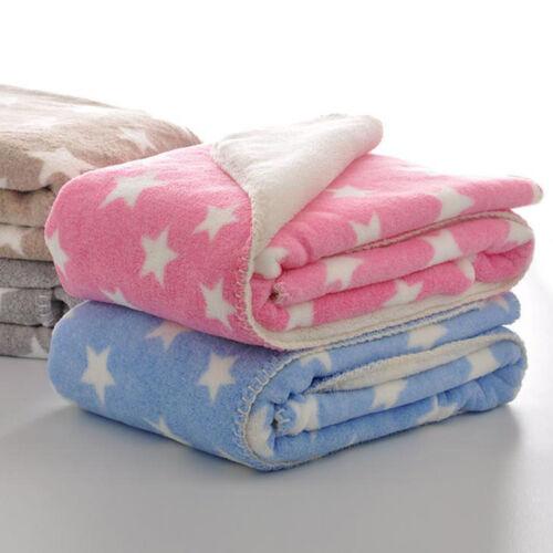 Baby Fleece Blanket Comfort Infant Beddings Multipurpose Ventilate Swaddle Towel