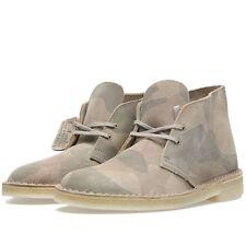 Clarks Originals Ladies Sand Multi Suede Desert Boots  UK Size 5 1/2 C