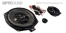 Vibe Optisound BMW 3 Series F30 F31 Front Door Speakers + Underseat Subwoofers