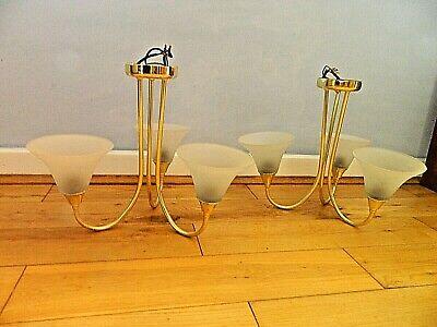Simbolo Del Marchio Attraente Finitura In Oro 3 Tonalità Plafoniera 2 Disponibili-mostra Il Titolo Originale