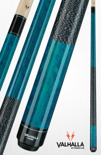 Valhalla by Viking VA113 Blue Pool Cue Stick Linen 18 oz LIFETIME WARRANTY