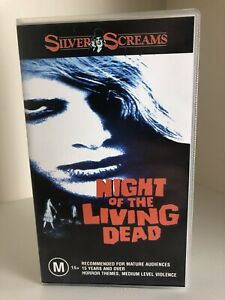 Night-Of-The-Living-Dead-Tape-Sealed-Horror-George-A-Romero-Silver-Screams