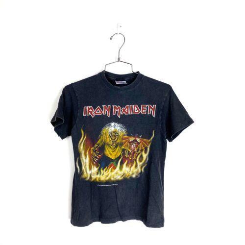 Iron Maiden Shirt Vintage T Shirt 1983 Maiden Edd… - image 1