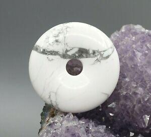 Magnesita-Colgante-Donut-50mm-Pi-Scheibe-Calidad-a-de-Piedras-Preciosas-e2