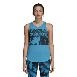 Details about Adidas Women Essentials Season Tank Top Fitness Running Gym Work Out DU0692