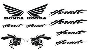 Kit-10-Stickers-de-HORNET-Honda