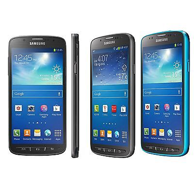 """UNLOCKED <AT&T> BLUE Samsung Galaxy S4 i537 Active 16GB 4G LTE 5"""" 8MP Android"""