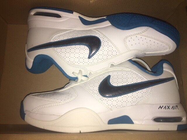 Mujer Air Nike Air Mujer Max mirabella 2 nuevo deporte fitness zapatillas de tenis gr:38 Blanco/Azul 2e13b9