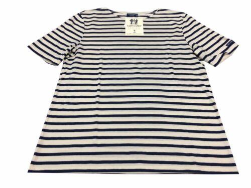 Homme shirt James Moderne Ecru Saint Mod Coton Marine 100 Levant Fabriqu T xqXYdg4
