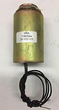 MSA  Selenoid  model # 7185/0244 24 VDC-CD