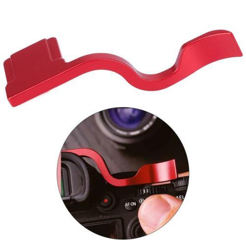 Aleación de apoyo del pulgar arriba empuñadura reemplazo para Sony A9//A9R//un 7 RIII//A7III Cámara