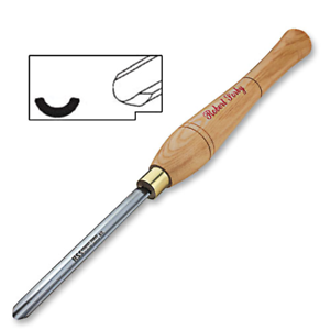 Robert Sorby #839H 8mm Continental Spindle Gouge