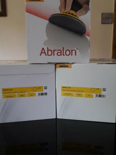 Dry Sanding Discs P2000 1 x Mirka Abralon 150mm Wet