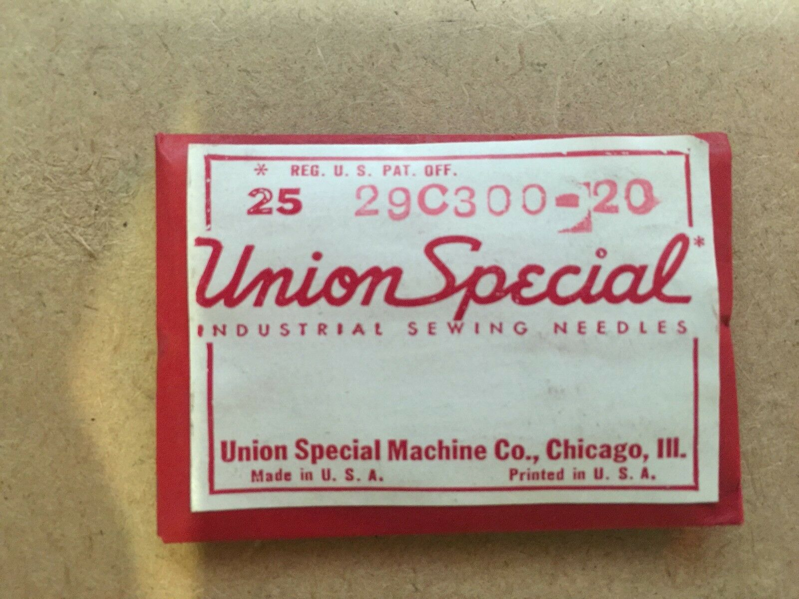 5 NEEDLES UNION SPECIAL SYSTEM29-BL SIZE:NM:110//044 INDUSTRIAL SEWING MACHINE
