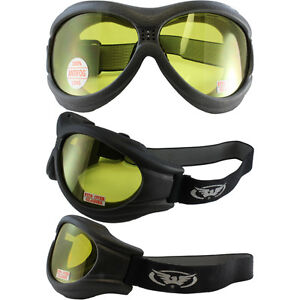 68739a0b74d1 Flexible Anti-Fog Motorcycle Goggles-Fit Over RX Glasses Fitover W ...