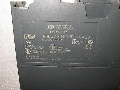 SIEMENS SIMATIC S7 6ES7331-7PF11-0AB06ES7 331-7PF11-0AB0 E:4
