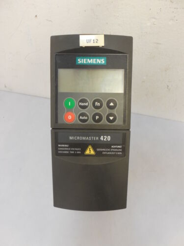 Siemens Micromaster 420 6SE 6420-2UC13-7AA1