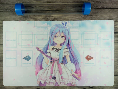 YuGiOh Witchcrafter Madame Verre Master Rule 4 TCG OCG Custom Playmat Free Tube