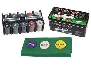 Confezione 200 Gettoni Fiches In Box Giochi Poker Casinò idea