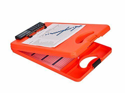 Klemmbrett auf Formular... Saunders 53402 DeskMate II Safety mit Taschenrechner