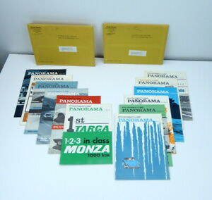Porsche-Panorama-Magazine-Complete-Year-1966-12-Issues-PCA-Rare-Volume-11-Vintg