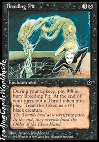 4x Breeding Pit //// EX //// Fallen Empires //// engl //// Magic the Gathering