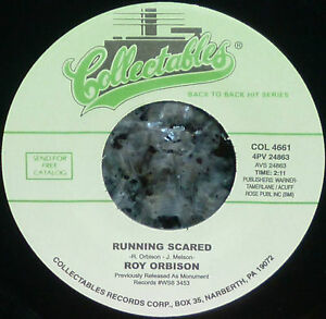 Roy Orbison Running Scared - Love Hurts