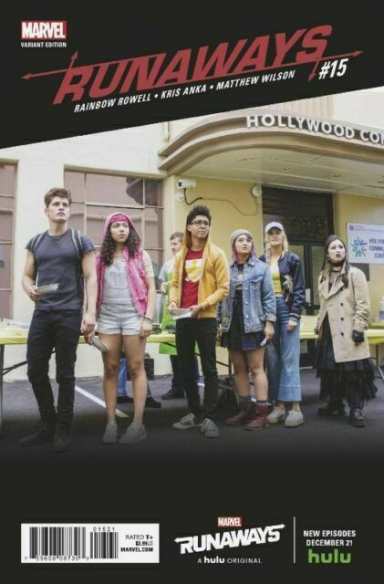 Runaways #9 VF 2018 Stock Image