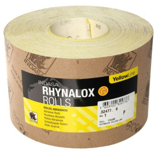 Papier abrasif rôle 50m p40 INDASA rhynalox handschleifpapier abrasives