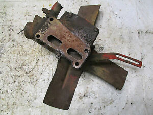 farmall ih 460 gas tractor fan and water pump assembly ebay