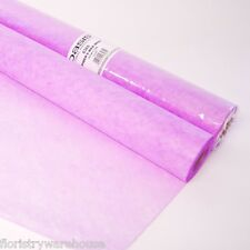 "Oasis® Spider's Web Fabric Wrap Lilac 60cm (23"") Wide on a 25m (27yd) Roll"