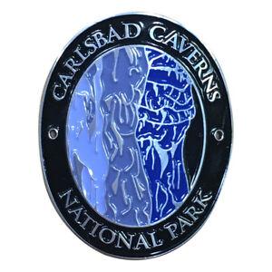 Carlsbad-Caverns-National-Park-Walking-Hiking-Stick-Medallion-New-Mexico