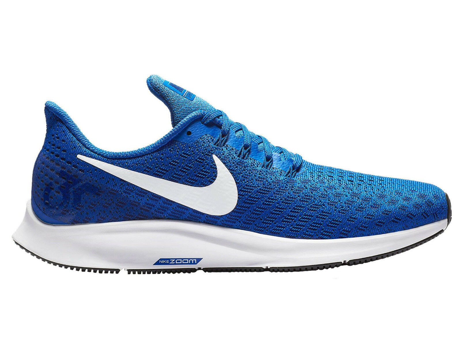 Men's Nike Air Zoom Pegasus 35 fonctionnement chaussures Trainers Game Royal/blanc/Deep
