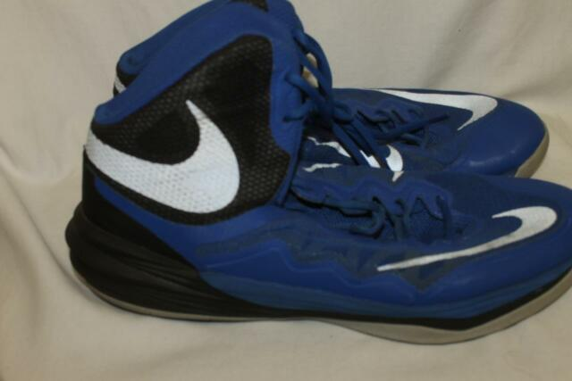 best website 194ba b0cfe Nike Prime Hype DF II Basketball Shoes Mens size 13 Blue Black Silver  806941-401