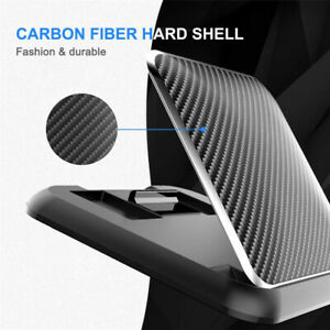 Carbon Fiber Car Phone Holder Dashboard Universal 3 to 7 inch Mobile Phone Clip