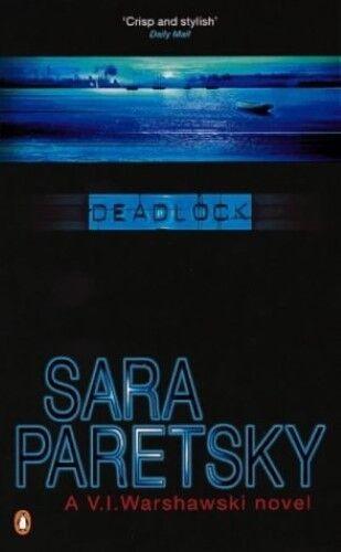 1 of 1 - Good, Deadlock (A V. I. Warshawski novel), Paretsky, Sara, Book
