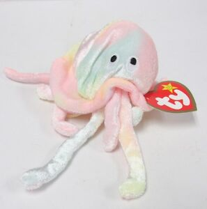 Image is loading Ty-Teenie-Beanie-Baby-034-Goochy-the-Jellyfish- 251f19ca634