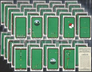 OGDENS-FULL-SET-TRICK-BILLIARDS-50-CARDS-EXC