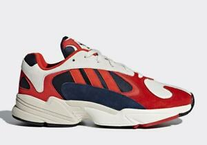 the best attitude aef00 0c0fd Image is loading Adidas-Yung-1-Sneakers-b37615-Chalk-White-Collegiate-